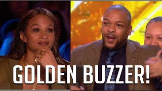 Alesha Dixon Gives EMOTIONAL Golden Buzzer To Old Friend! | Britain's Got Talent 2018