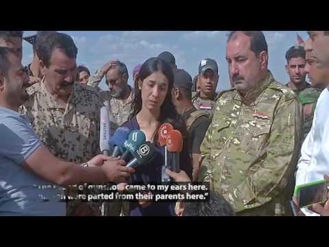 Yazidi IS Survivor Makes Emotional Return...