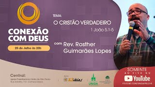 CONEXÃO COM DEUS AO VIVO - Igreja Presbiteriana Unida de São Paulo - 20/07/2020