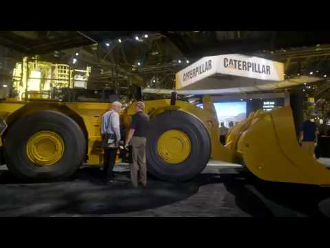 What's New In Underground Mining: Behind The Scenes With Caterpillar At MINExpo 2016