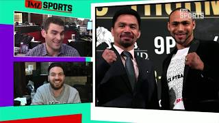 Keith Thurman Betting a Lot Of Money On Himself to KO Pacquiao | TMZ Sports