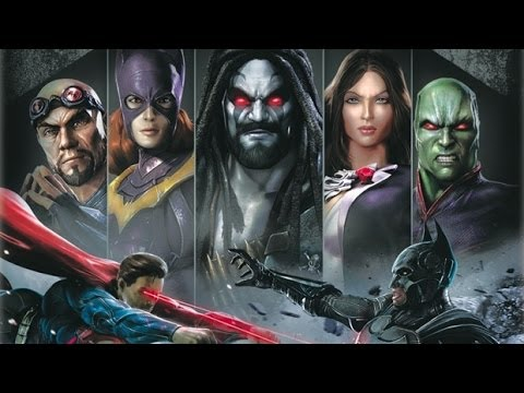 Injustice: Gods Among Us All DLC Character's Intro's,Super Move's,and Outro's
