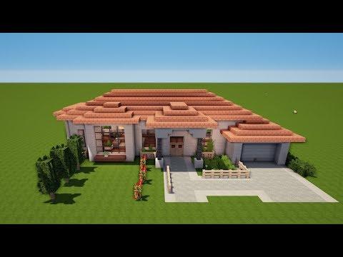MINECRAFT ITALIENISCHE VILLA Bauen TUTORIAL HAUS YouTube - Minecraft haus bauen fur profis