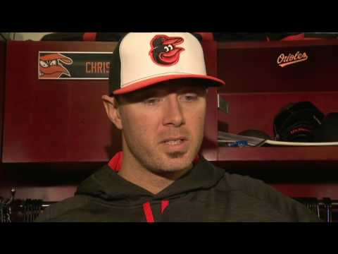 Chris Tillman on first start, win of the season