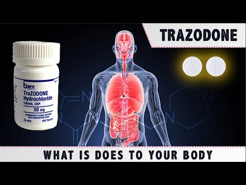 What That Trazodone High Is Doing To Your Body
