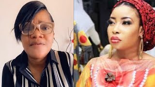 TOYIN ABRAHAM FINALLY SPEAKS UP TELL FANS TO STAND DOWN ON ONGOING ISSUES WITH LIZZY ANJORIN