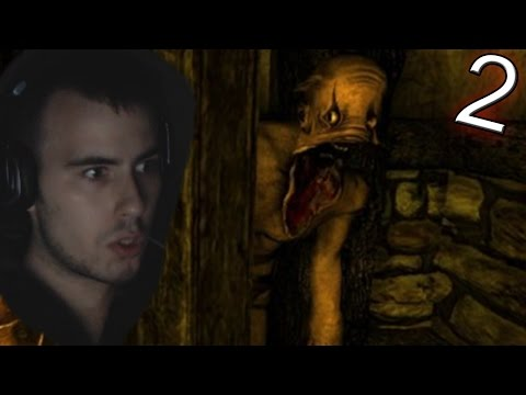 Amnesia: The Dark Descent [BLIND] Playthrough Part 2 - First Monster Encounter  (First Time Playing)