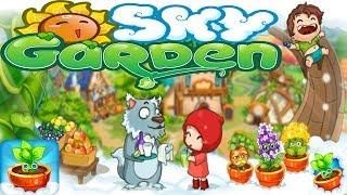 Sky Garden : Райская ферма Обзор Строительной песочницы Детское видео Игровой мультик