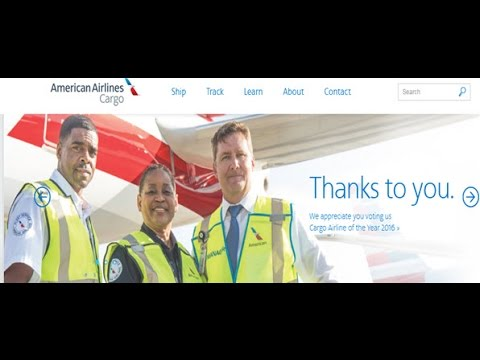 American Airlines Cargo Tracking,American Airlines Air Cargo Tracking Status