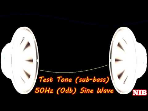 NIB - Test Tone(sub-bass) - 50Hz (0db) Sine Wave
