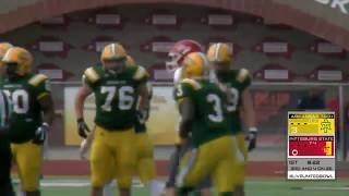 2017 Arkansas Tech offense vs PIttsburg State defense - Bowl Game (College Football)