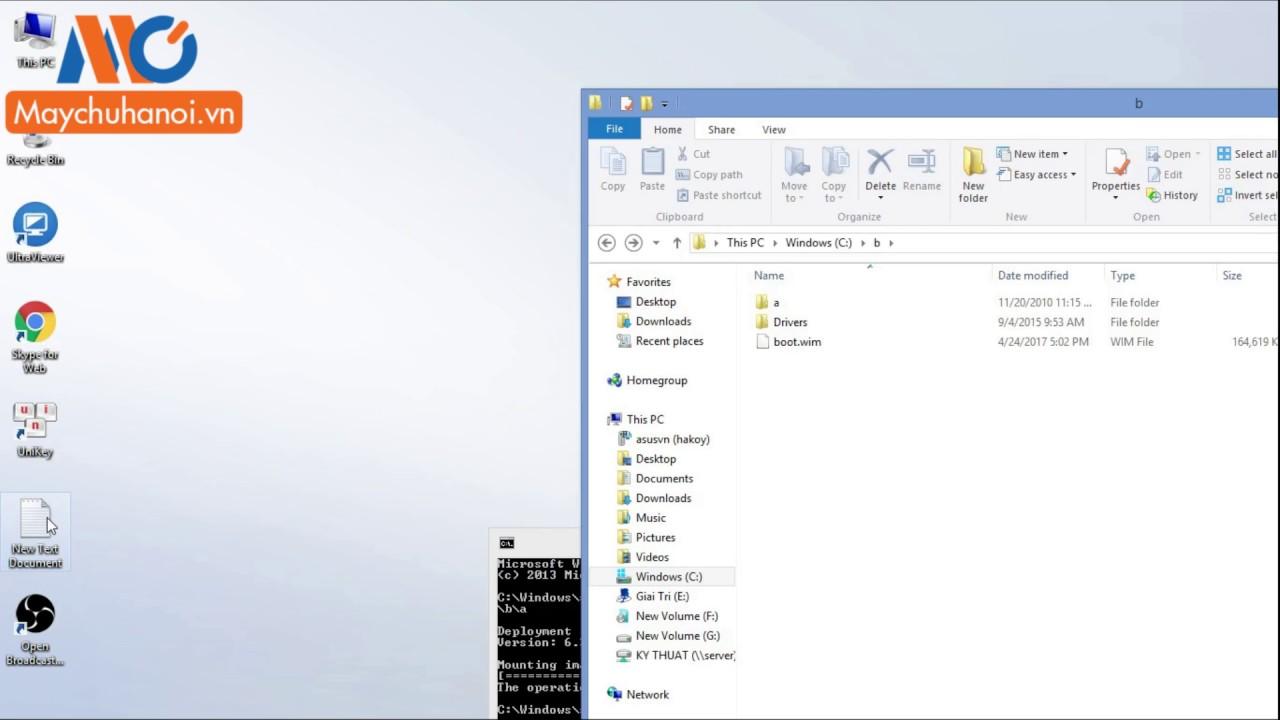 Máy Chủ Hà Nội – Add Driver USB 3 0 Vào Đĩa Cài Windows Server 2008r2 Cho Main s11ssl