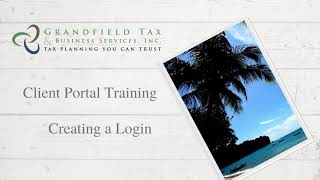 Client Portal Training: Creating a Login