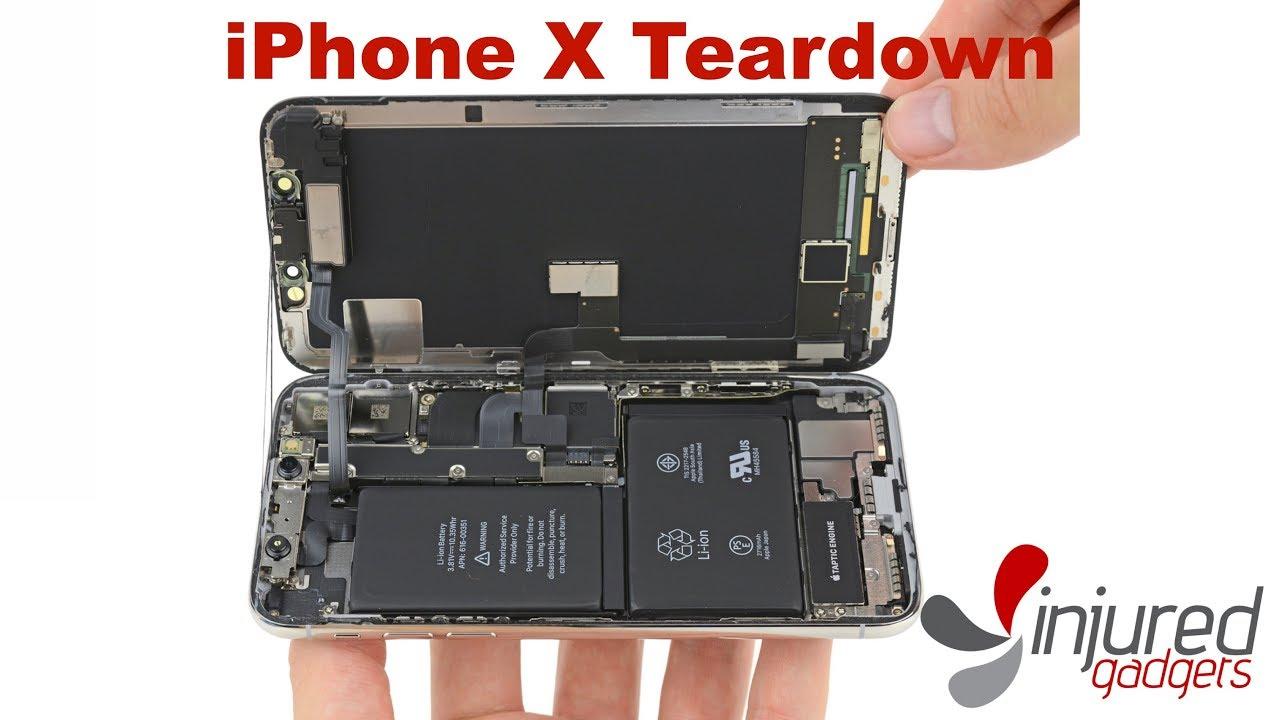 iphone x quick teardown guide youtube rh youtube com iPhone Tear Down Parts List iSuppli iPhone Tear Down