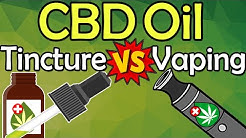 CBD Oil Tincture vs Vape: BEST Way To Use Cannabidiol || Pros & Cons Of Vaping vs Drops COMPARED!