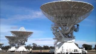 Radio Telescopes - CSIRO Australia Compact Array, Narrabri, Australia