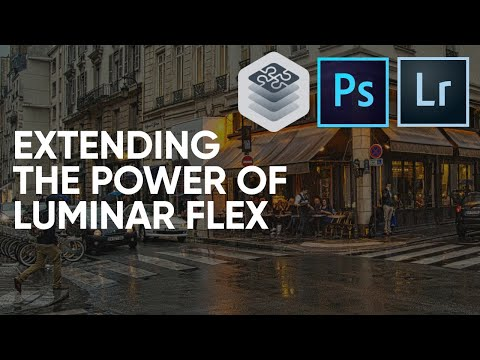 Extending the Power of Adobe Photoshop & Adobe Lightroom with Luminar Flex plugin