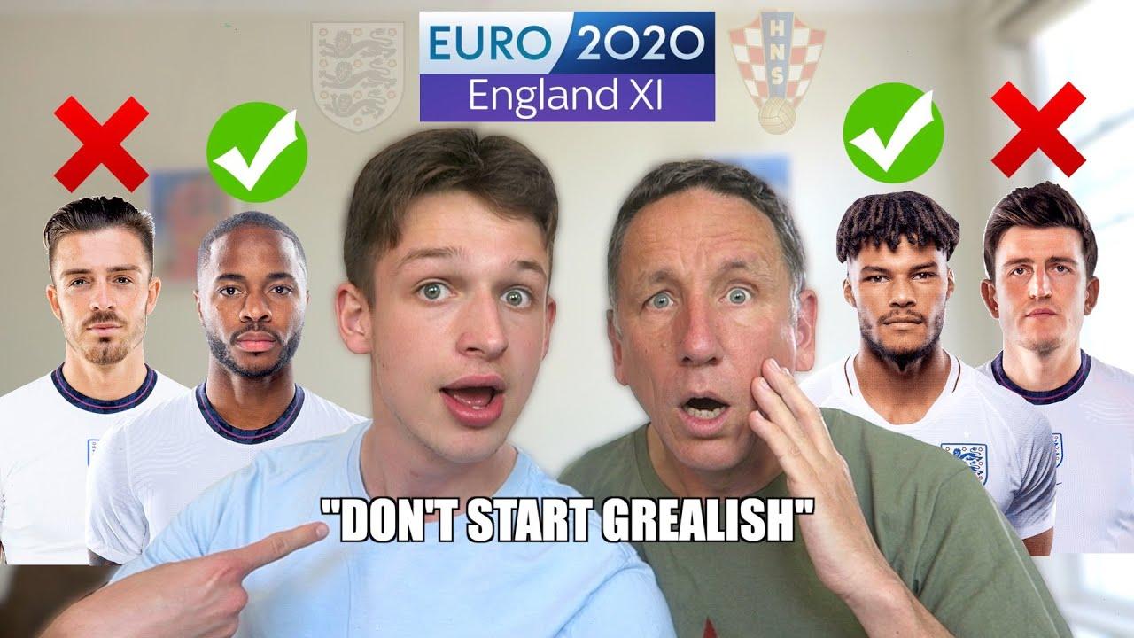 OUR EURO 2020 ENGLAND STARTING XI vs CROATIA