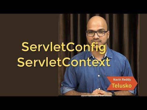 ServletConfig And ServletContext