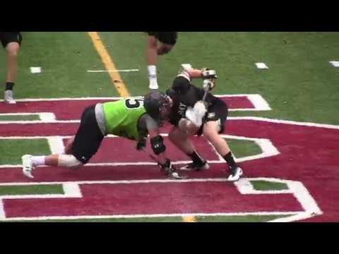 2017 Army vs Johns Hopkins Fall Ball Lacrosse Highlights