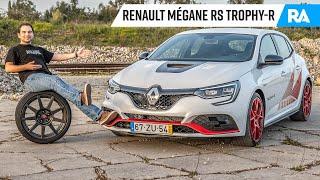 Renault Mégane RS TROPHY-R (300cv). O tração dianteira mais RÁPIDO DO MUNDO