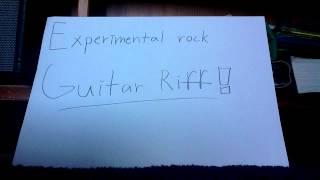Experimental Rock Guitar Riff
