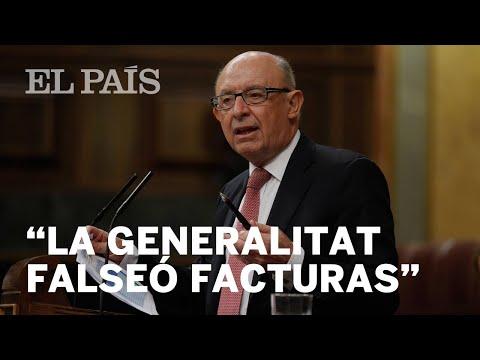 """CATALUÑA   MONTORO dice que pudo haber """"falseamiento"""" de facturas en la GENERALITAT   España"""