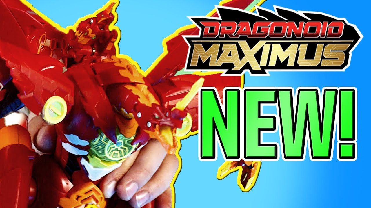 Top Toys For Kids 2019 Best Action Figure Toy Dragonoid Maximus Youtube