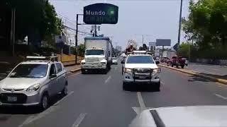 Campesinos llegan a Managua para asistir a peregrinación por protestas en Nicaragua