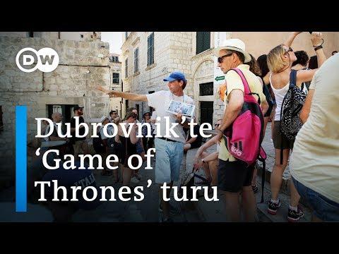 'Game of Thrones' Dubrovnik'e turist çekiyor - DW Türkçe