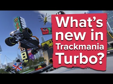 What's new in Trackmania Turbo?
