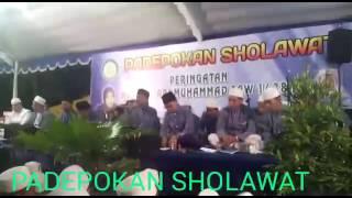 Padepokan  Sholawat  Rungkut  -  Peringatan  Maulid  Nabi  Muhammad  SAW  menyambut  Tahun Baru 2017