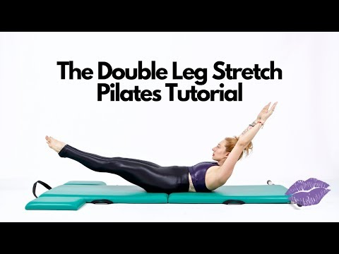 Double Leg Stretch on the Mat | Online Pilates Classes