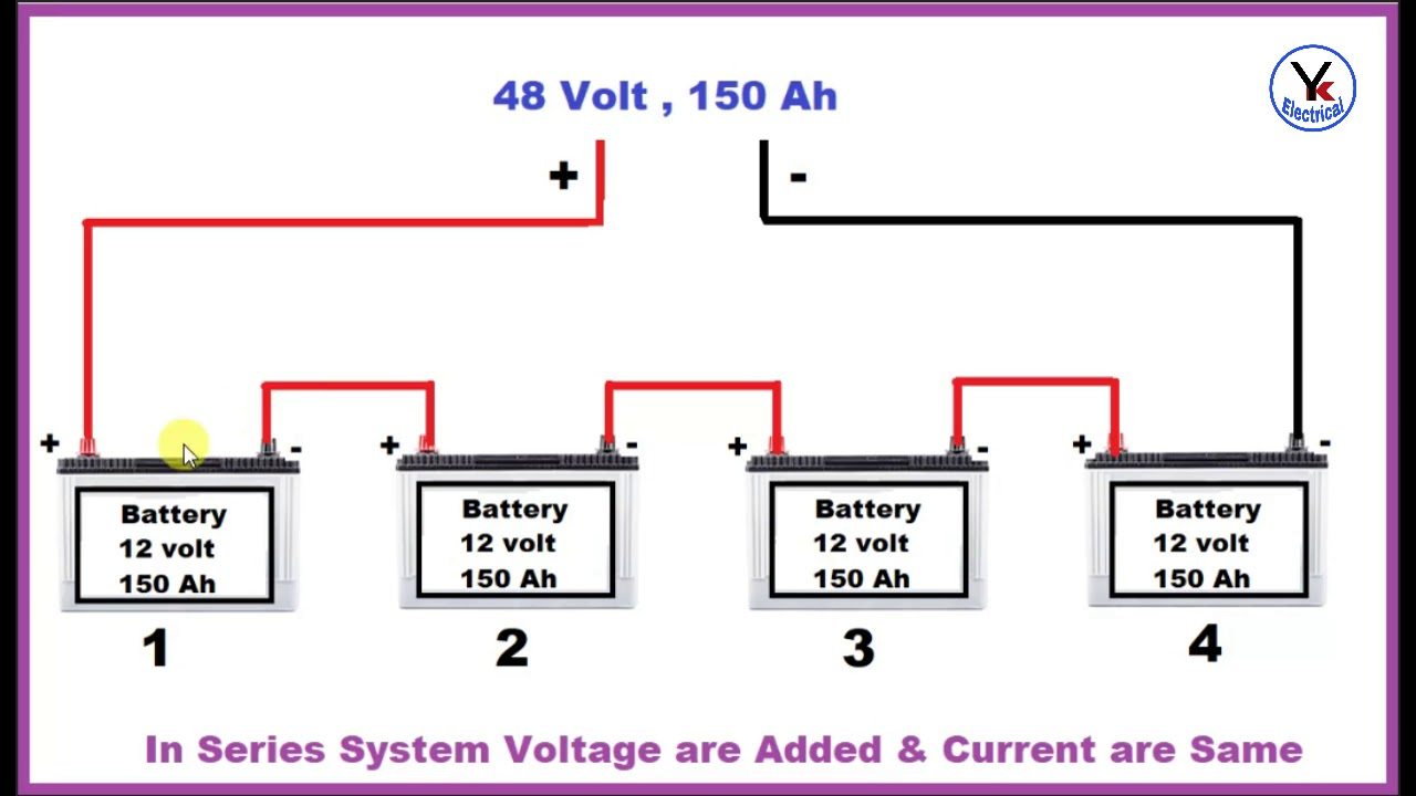batteryconnection batteryseriesconnection doublebattery [ 1280 x 720 Pixel ]