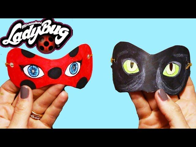 Mucize Uğur Böceği Ile Kara Kedi Maskesi Nasıl Yapılır Boya Boya