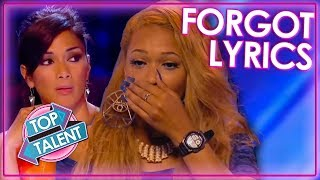 OOPS! Try Not To Forget The Lyrics! | Top Talent