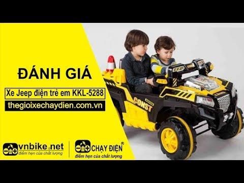 Đánh giá xe Jeep điện trẻ em KKL-5288