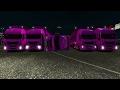 Mini Convoy de camiones rosas en el atascadero! Calais - Duisburg Multiplayer