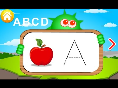 Learn To ABCD from A to Z - nursery Video for children