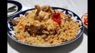 Real Uzbek Plov! Made by Master Plov maker!