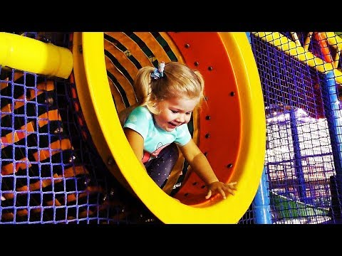 Thumbnail: Outdoor Playground Family Fun Play Area for kids / Baby Nursery Rhymes Song