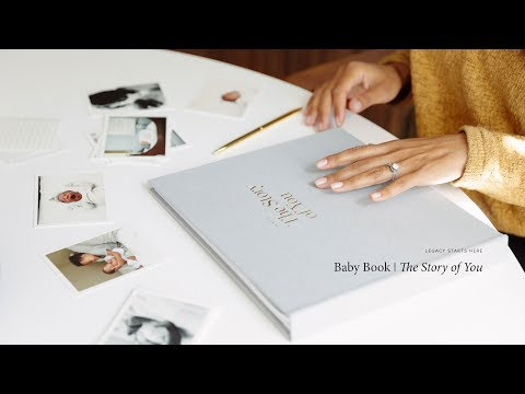 Legacy Starts Here: The Story of You Baby Book