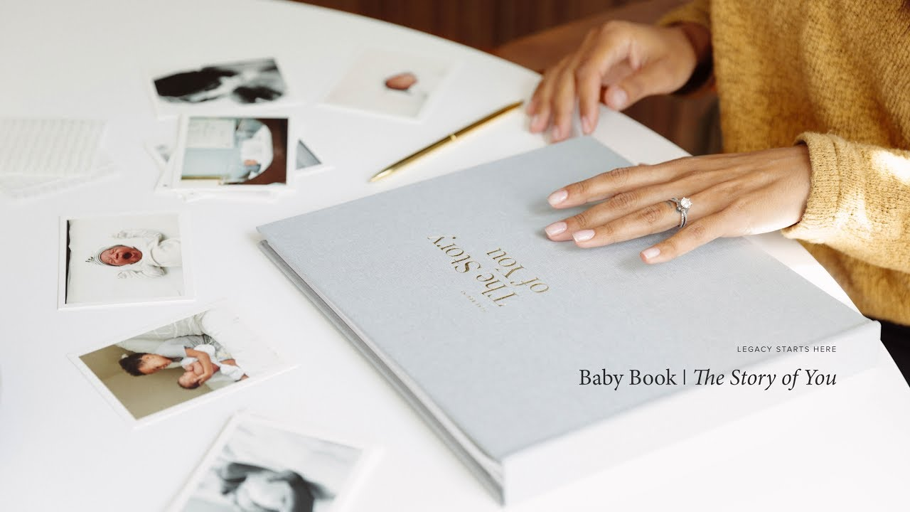 Legacy Starts Here The Story Of You Baby Book
