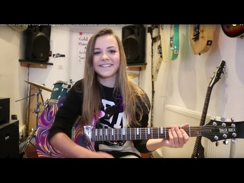 Zoe Thomson One Hundred Sleepless Nights Pierce The Veil Guitar Cover