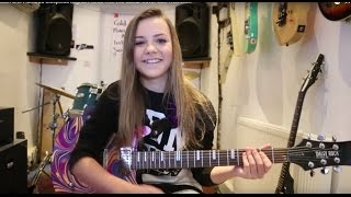 Repeat youtube video Zoe Thomson One Hundred Sleepless Nights Pierce The Veil Guitar Cover