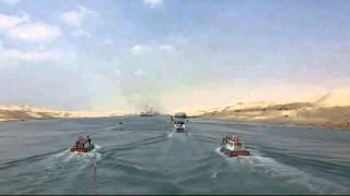 New Suez Canal: dredging in the June 15, 2015
