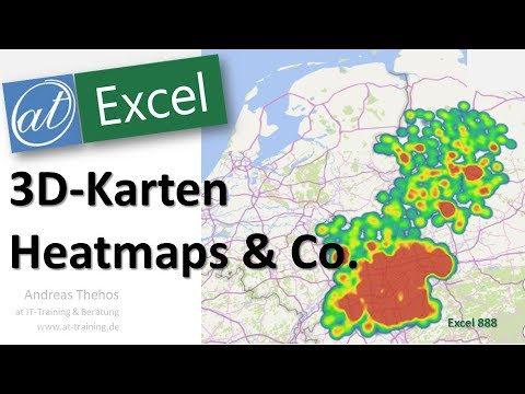 3D-Karten In Excel - Heatmaps & Co. - Excel # 888