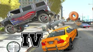 GTA IV & EFLC: Crashes, Bailouts, Ragdolls & Fails Compilation #32 [1080p]