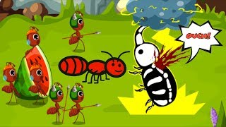 The Power of Ants! Ant Colonies Baby Panda Kids Learn Ants Queen Stage by Stage