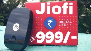 JioFi Unboxing And Speed Test | Jio Festive Offer Buy JioFi At ₹999/- 😮